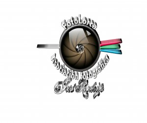 Logo fotolorca transparente 3D