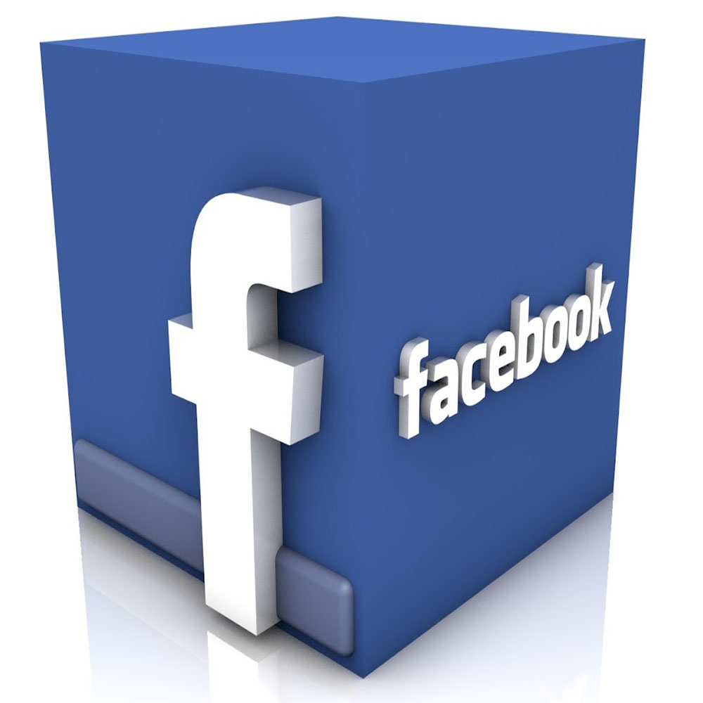 3D-Facebook-Logo